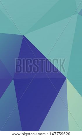 Abstract blue polygonal background texture illustrations .