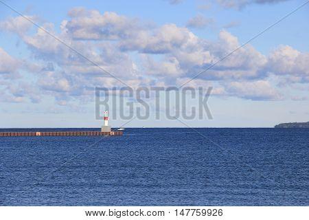 Little Traverse Bay part of Lake Michigan, near Petoskey, Michigan