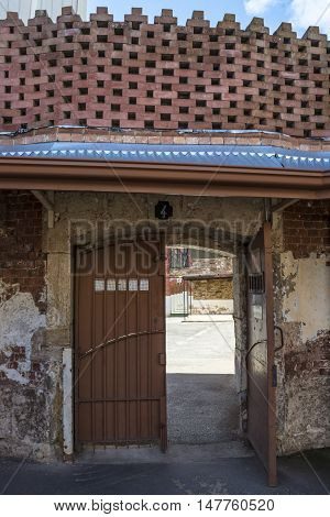 Door To Four Yard, Adelaide Gaol, Adelaide, South Australia