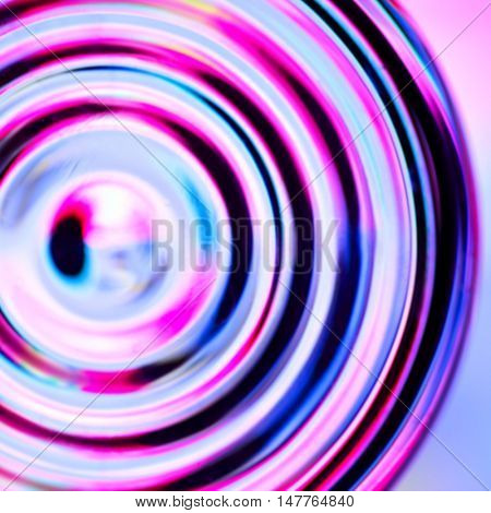 Abstract background with defocused concentric circles