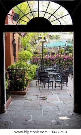 Doorway To Courtyard New Orleans