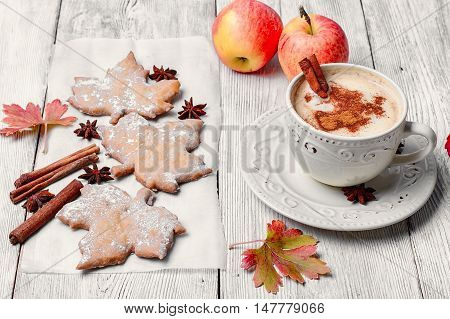 Autumn Cookies And Coffee