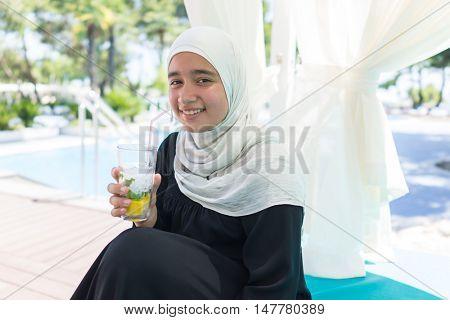 Girl in hijab