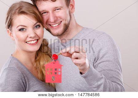 Couple With House Keys.