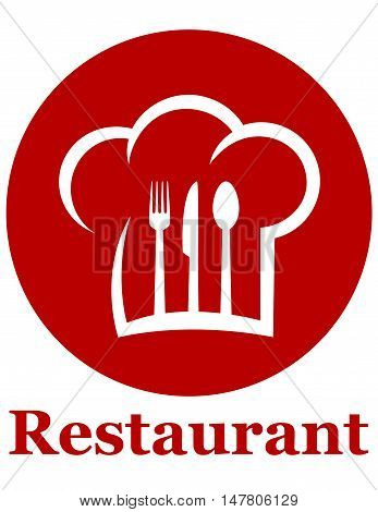 Red Restaurant Icon