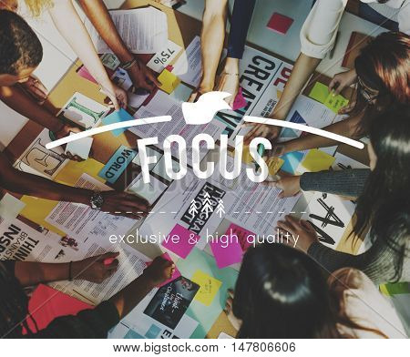 Focus Target Concentration Vision Inspiration Concept