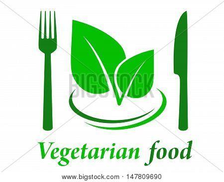 Vegetarian Restaurant Icon
