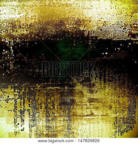 Colorful grunge background, tinted vintage style texture. With different color patterns: yellow (beige); brown; green; black; white