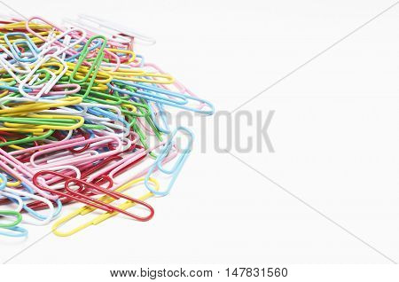 Multi Colored Paper clips