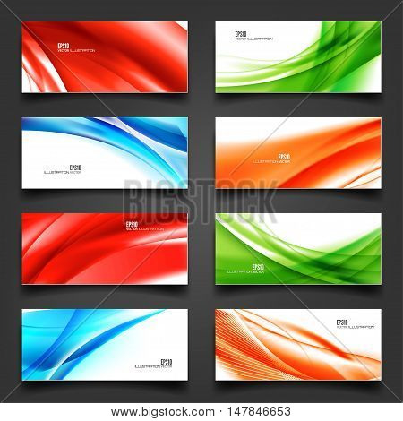 Abstract lines. Vector illustration. Lined background. Blend effect.