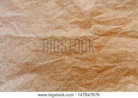 Baked paper with baking stain  texture and background