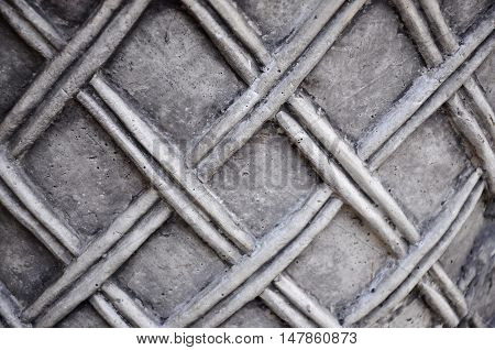 Ceramic lined striped gray and grey texture background