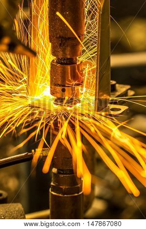 The Industrial welding automotive auto parts in thailand.