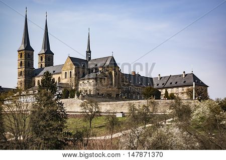 Old Monastery St. Michael in Bamberg Germany
