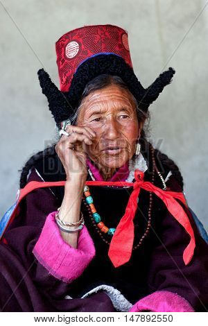 Woman From Ladakh, India
