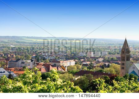 Pecs in Hungary - landmark of the town