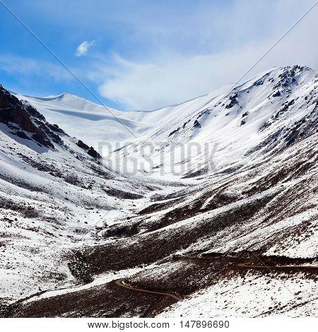 Khardung La Pass In Ladakh, India