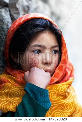 Girl From Baltistan