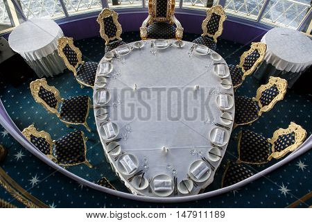 Saint Petersburg, Russia, July 31 , 2016: Ship