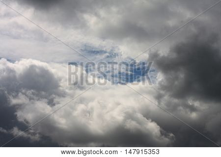 dark storm clouds before rain, nature background