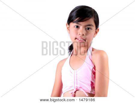 Asian Child - Swimsuit