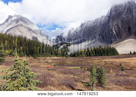 Picture of Mount Chester,taken on the hike to Chester Lake, Alberta,Canada.