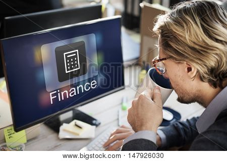 Finance Economy Application Investment Graphic Concept