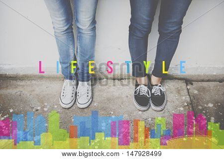 Lifestyle Independence Behavior Live Your Life Concept
