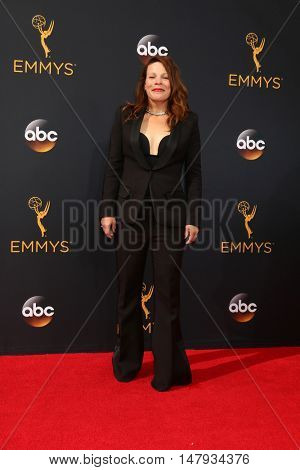 LOS ANGELES - SEP 18:  Lili Taylor at the 2016 Primetime Emmy Awards - Arrivals at the Microsoft Theater on September 18, 2016 in Los Angeles, CA