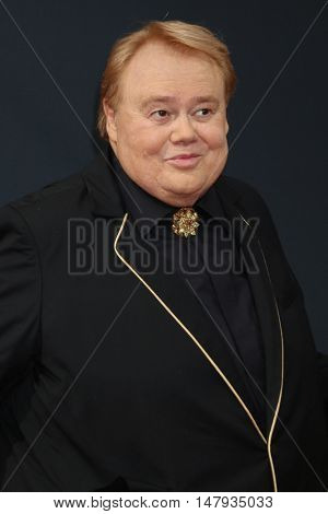 LOS ANGELES - SEP 18:  Louie Anderson at the 2016 Primetime Emmy Awards - Arrivals at the Microsoft Theater on September 18, 2016 in Los Angeles, CA