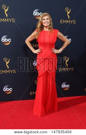 LOS ANGELES - SEP 18:  Connie Britton at the 2016 Primetime Emmy Awards - Arrivals at the Microsoft Theater on September 18, 2016 in Los Angeles, CA