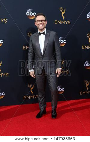 LOS ANGELES - SEP 18:  Christian Slater at the 2016 Primetime Emmy Awards - Arrivals at the Microsoft Theater on September 18, 2016 in Los Angeles, CA