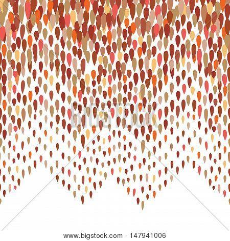 Abstract water drop pattern. Zig zag spot background. Abstract drop pattern. Seamless rainbow blot pattern