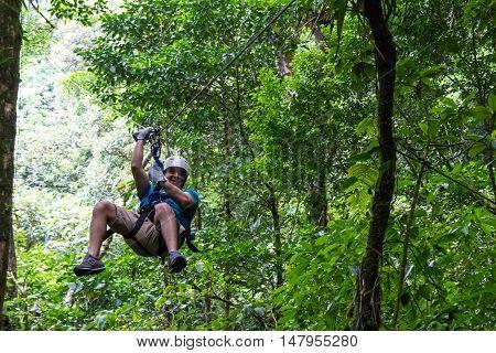 Zip Line Canopy Tours In Costa Rica