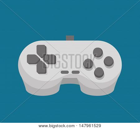 control console social media isolated icon design, vector illustration graphic