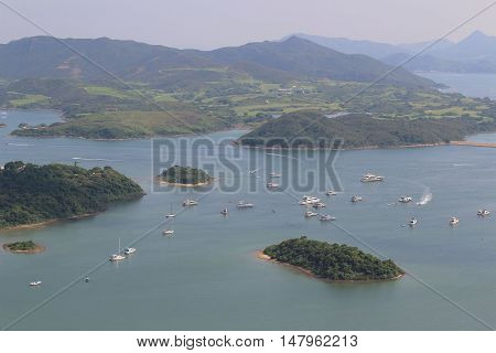 Tai Tun View Of Sai Kung Hong Kong