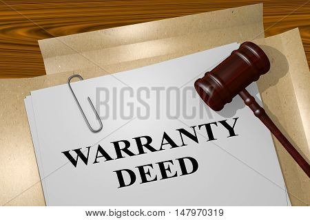 Warranty Deed - Legal Concept