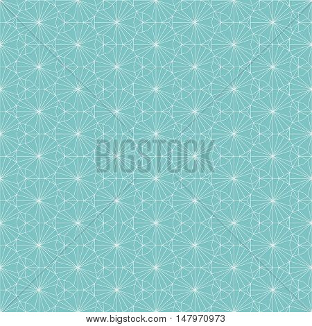 Vector seamless pattern. Modern stylish texture. Repeating geometric background with thin lines pattern