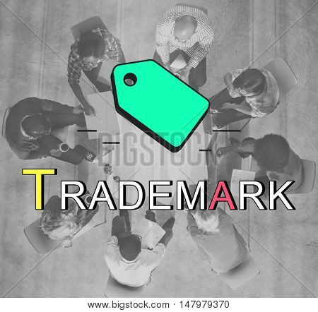 Branding Tag Copyright Trademark Identity Concept