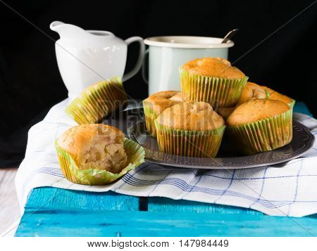 Spelt Wheat Muffins With Fruit