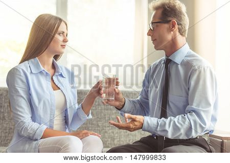 Woman At The Psychotherapist
