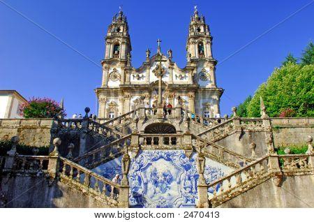 Portugal, Lamego: Sanctuary Nossa Senhora Dos Remedios