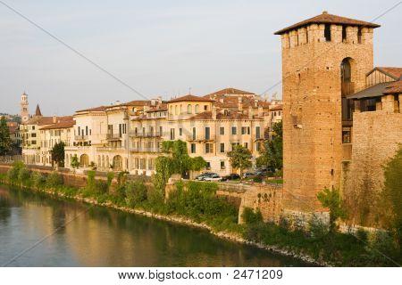 Italian Cityscape. Verona.