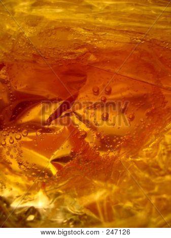 Orange Bubbles 3