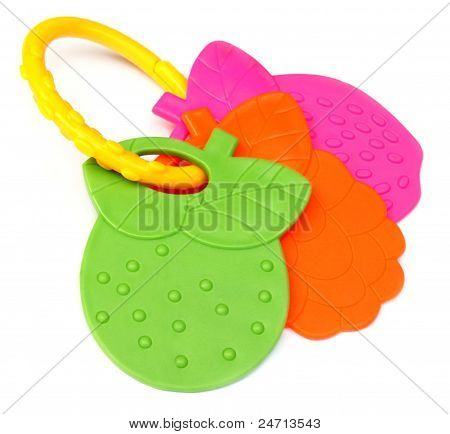 Newborn baby toy for teething