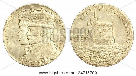 Silver Jubilee Medallion of King George V 1935