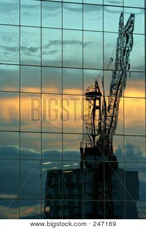 Crane Reflected 2
