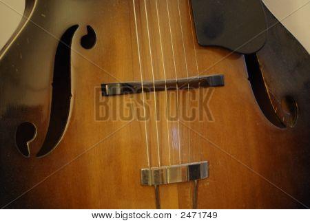 Antique Guitar Bridge