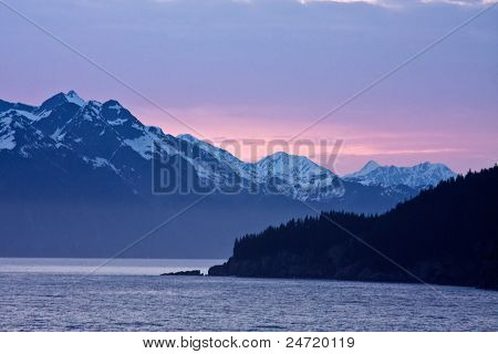 Sunset Over Resurrection Bay