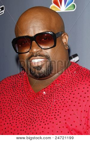 LOS ANGELES - OCT 28:  Cee Lo Green arriving at